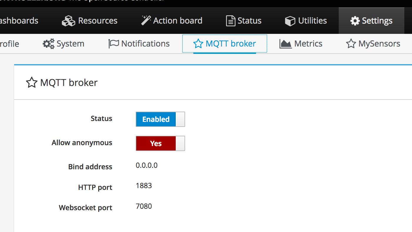 MQTT sample setup on ESP8266 | MyController org - The Open Source